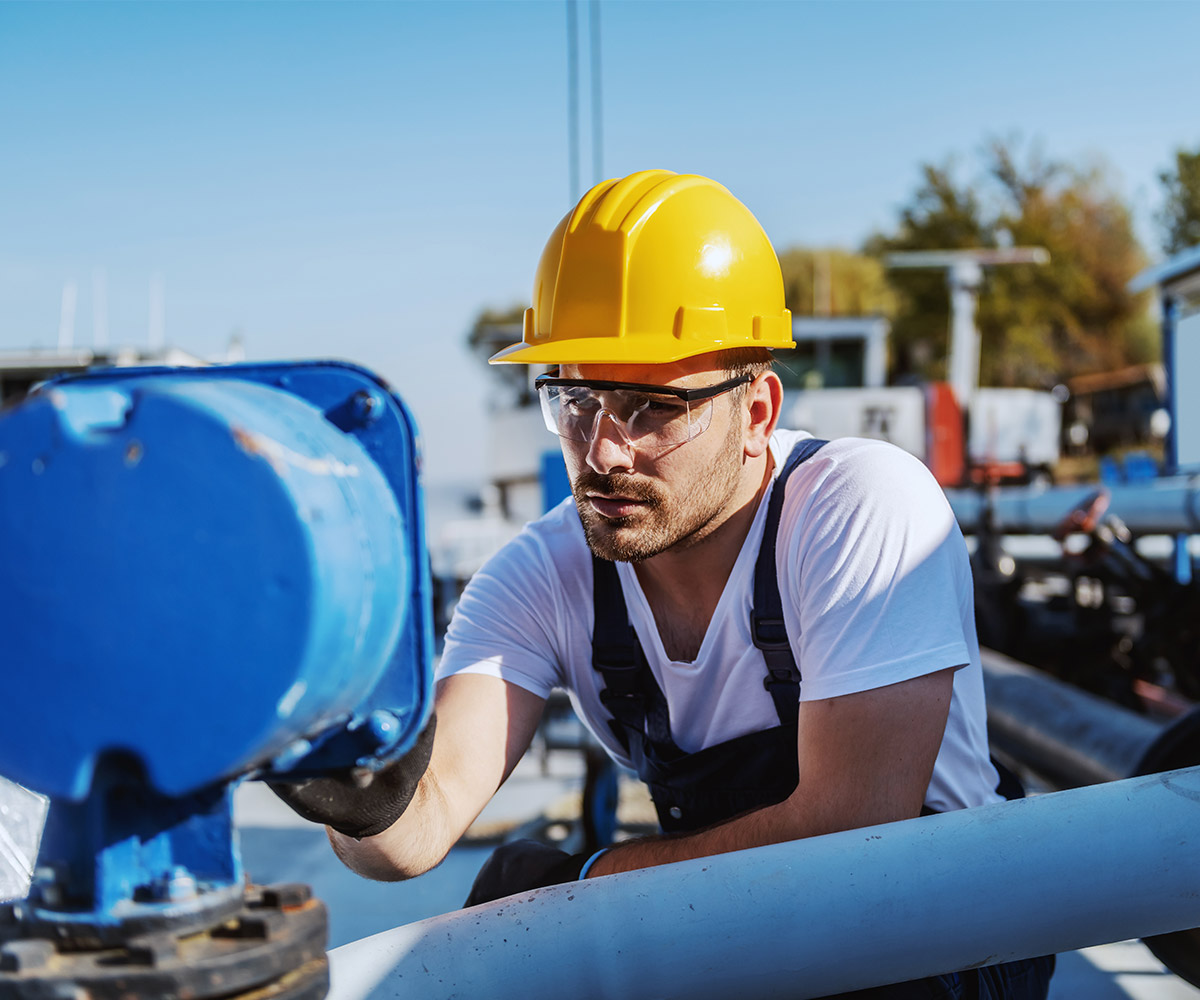 Worker monitoring water functions - High Tide Technologies